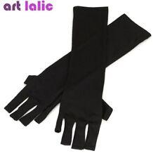 Artlalic UV Gloves Radiation gel Nail Art Protection UV Light Lamp Black Set