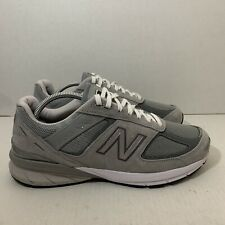 New Balance Made in US 990v5 M990GL5 Running Shoes, Men's Size 10 4E, Gray, EUC