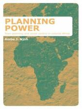 PLANNING POWER - NJOH, AMBE J. - NEW PAPERBACK BOOK