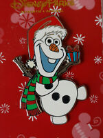 Disney WDW - Frozen - Santa Olaf Christmas With Scarf And Present 2015 Pin