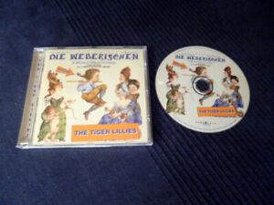CD The Tiger Lillies - Die Weberischen | Macabre Avant-garde Black Humor Cabaret