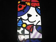 Abstract Dog Cover Case for iPhone 4 4s New Dog w/ bowtie Case