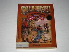Gold Rush!  (Amiga, 1989) Rare, Vintage Sierra Game