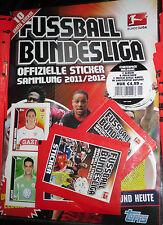 Futbol liga 2011/2012 Topps sticker/Starter pack álbum