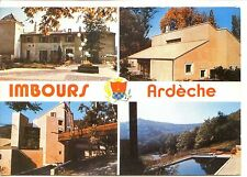 CP 07 ARDECHE - Imbours - Centre National Mutualiste - Multivues couleurs