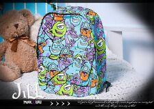 street Punk Comic Monster Inc all stars Mike Wazowski travelling backpack JN4024
