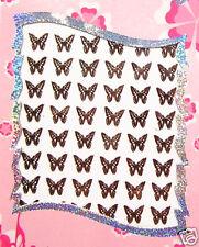 Bijoux ongle Sticker autocollant DORE Papillon Nail Art