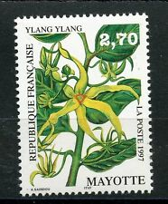 STAMP / TIMBRE DE MAYOTTE N° 42 ** FLORE FLEUR / YLANG-YLANG