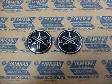 Yamaha Motorcycle Fuel Tank Emblem Badge may fit YG YG1 Logo Pair NOS RARE
