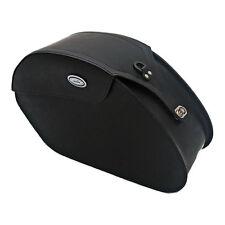 Ledrie sacoches en cuir noir, renforcé, 18 litres, f. Harley-Davidson