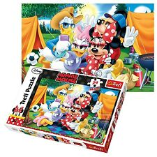 Trefl 24 Piece Maxi Unisex Mickey & Minnie Mouse Large Pieces Jigsaw Puzzle NEW