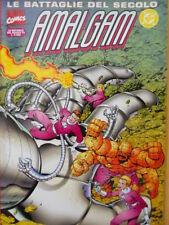 Le Battaglie del Secolo AMALGAM n°15 1997 ed. Marvel Italia [G.212]