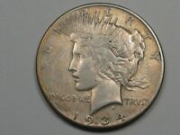 Better-Date 1934-s US Peace Dollar.  #20