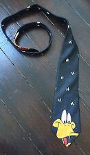 Vintage pour homme années 90 looney tunes daffy duck cravate rétro formel costume urban