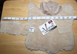 NWT      VISIONZ     FUZZY  DOG  COAT      XS