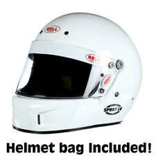 Bell Sport EV Auto Racing Helmet  Small White SA2015  +IN STOCK, SHIPS NOW+