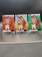 2019-20 Mosaic De'Andre Hunter NBA Debut PRIZM RC 3 Card LOT:SILVER/RED/GREEN 🔥