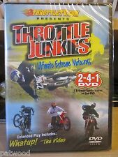 Throttle Junkies (DVD, 2006), NEW, Ultimate Extreme Motocross, 2 Videos on 1 DVD