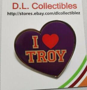 Disney High School Musical I love Troy Pin