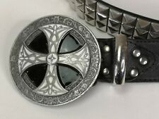 """Diseños De Dragón Hebilla de Cinturón Negro Gótico Tanside alternativa 40"""" cintura de -44"""" (A45)"""