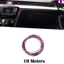 Chrome Purple 10M Car Auto Grille Interior Decoration Mounding Trim Strip Lines