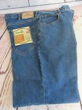 NWT OPEN TRAILS AUTHENTIC STONE WASHED JEANS MENS W 38 X 30 L BLUE RELAXED FIT