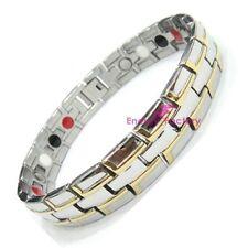New Magnetic Bracelet Bio-Energy 4in1 Magnets Germanium FIR + Anion
