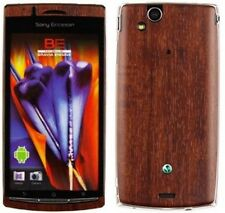 Skinomi Phone Skin Dark Wood+Screen Protector for Sony Ericsson Xperia Arc S