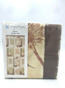 NEW Saturday Knight Inspire Fabric Shower Curtain Faith Love Believe 70 x 72