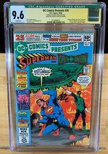 DC Comics Presents 26 CGC 9.6 1st Cyborg Starfire Raven signed Perez & Starlin