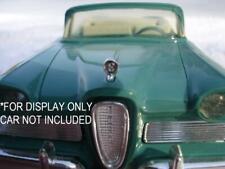 1958 Amt Edsel Promo Car Or Kit Reproduction Plastic Hood Ornament