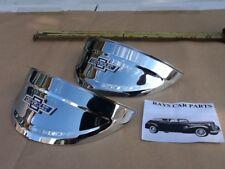 New 40 41 47 48 49 50 51 52 53 54 Chevy 7 Inch Vintage Style Head Light Visors Fits 1948 Fleetline