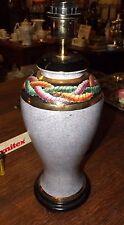 Lampe,Tischlampe,Lampenfuß, Keramik,bemalt, hochwertig,Ausstellungsst.