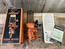 Lyman Ideal No. 55 Powder Measure With Original Box - Booklets And Accessories