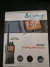 Cobra Mr Hh350W Flt 6 Watt Floating Vhf Radio Gray / Orange Waterproof Handheld