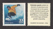 EXTREME SPORTS - SNOWBOARDING - U.S. POSTAGE STAMP - MINT CONDITION
