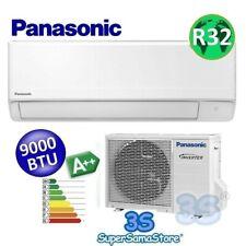 3S Split PANASONIC FZ Klimaanlage Klimagerät SET 2,5 KW 9000 BTU Kältemittel R32