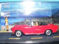 """Simca in Diorama Setting """"La Grande Corniche"""" 1:43 Altaya product."""