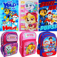 NEW LARGE KIDS BACKPACK TOWEL SCHOOL BAG BOYS GIRLS PAW PATROL SUPERHERO GIFT