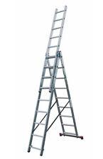 Scala alluminio componibile  mod. K109 9 gradini x 3 rampe
