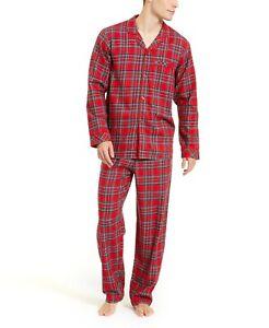 Family Pajamas Matching Men's Brinkley Pajama Set Red Plaid