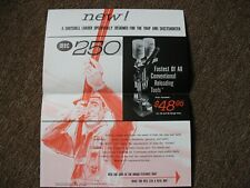 Vintage Mec 250 Shotchell Loader Advertisement Information Sheet Mayville Engin.