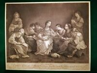 Gravure de Beauvarlet d'après Guido Reni ( très rare 50 exemplaires )