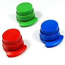 Portabale Office Staple Free Stapleless Stapler Paper Binding Binder Paperclip