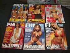 2004 FHM MAGAZINE (FOR HIM) - UK EDITION- LOT OF 12 - COMPLETE YEAR - RC 1059