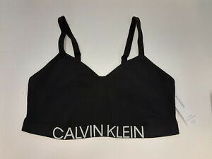 Calvin Klein Women's Plus-Size Statement 1981 Lightly Lined Bralette Bra, 1X