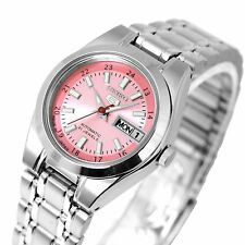 SEIKO 5 Automatic SYMH27J1 Pink Dial Ladies' Watch Lovely Cute F/S Made in Japan