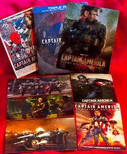 Captain America The First Avenger HMV STEELBOOK + Lenticular Magnet + Art Cards