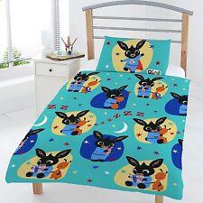 NUEVO BING CONEJITO Hora de dormir cama infantil tamaño Juego Colcha Edredón