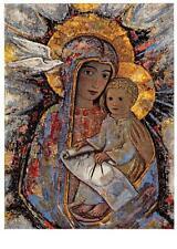 "vintage blank greeting cards ARS SACRA "" madonna + jesus ""3701"""